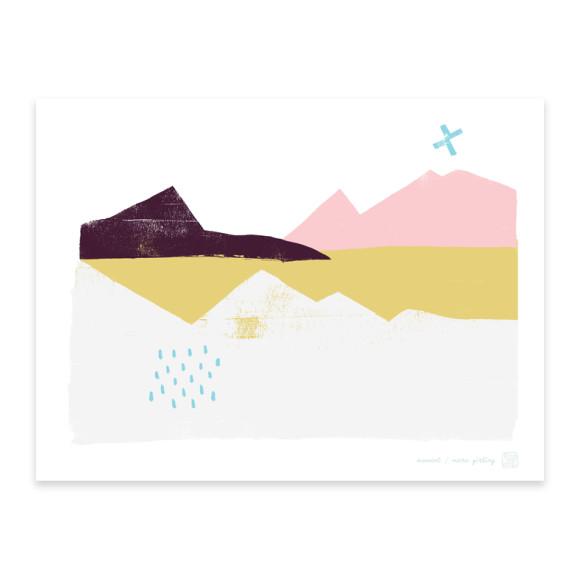 Moment Landscape Art Print