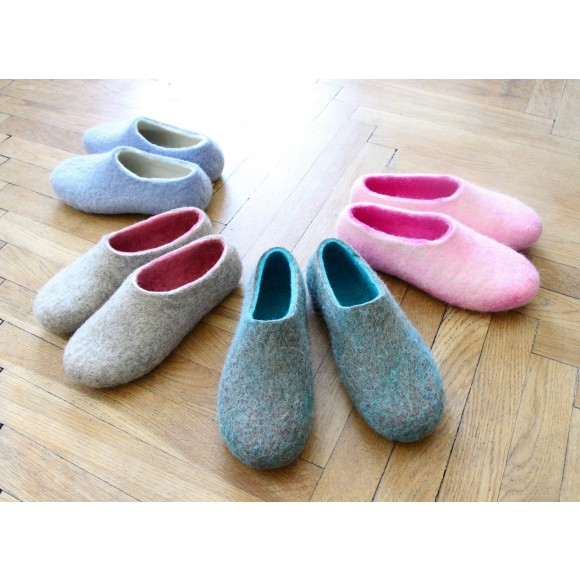 Wool Slippers Womens