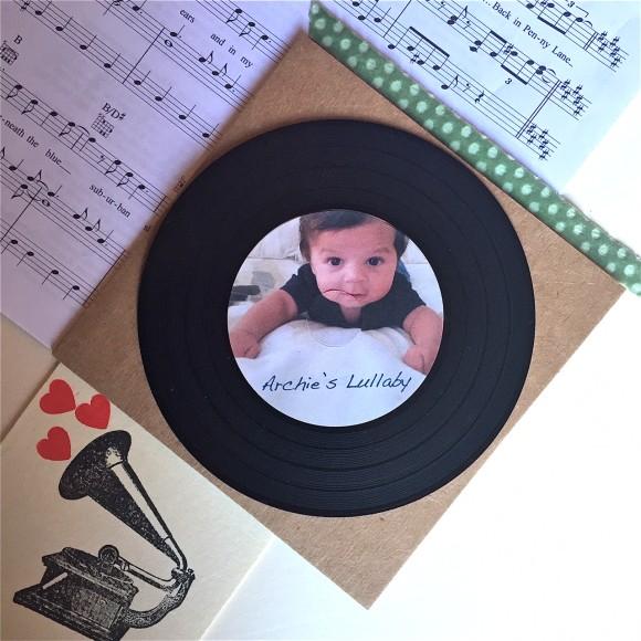 'Vinyl look' CD