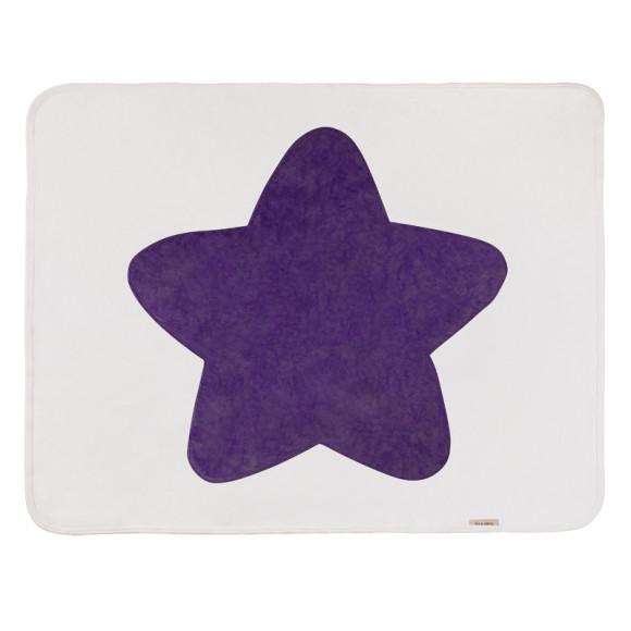 Purple baby Star Blanket