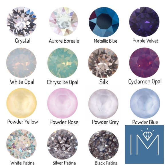 Other crystal colour options