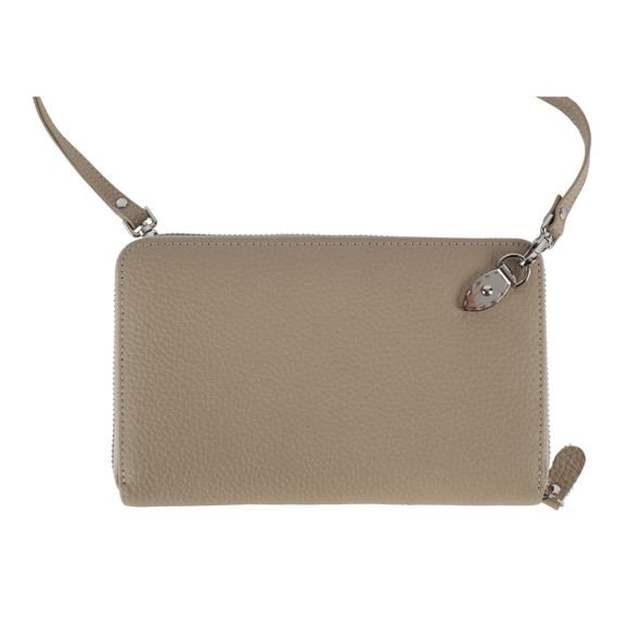 Taupe Leather Wallet