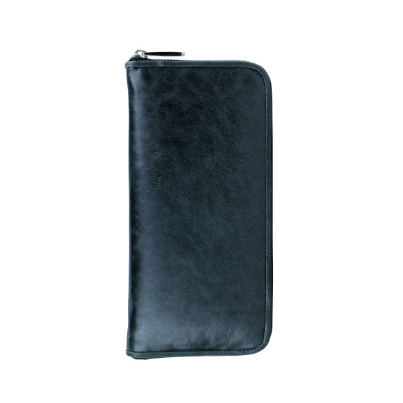 lyon zip wallet licorice