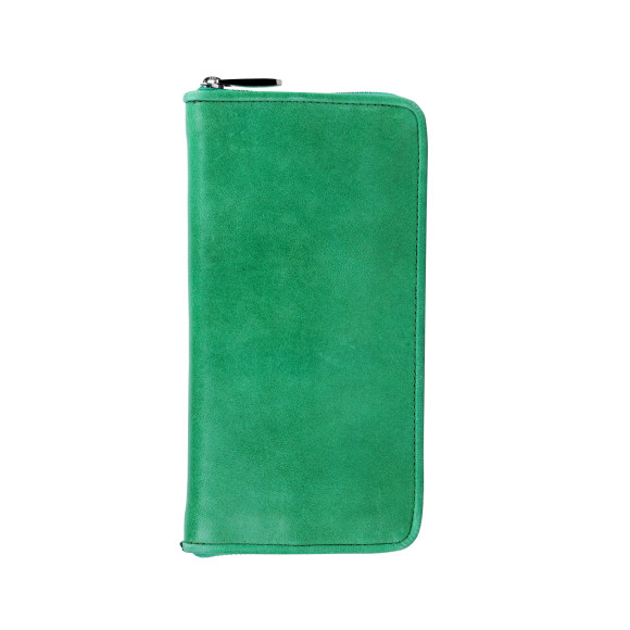 lyon zip wallet mint