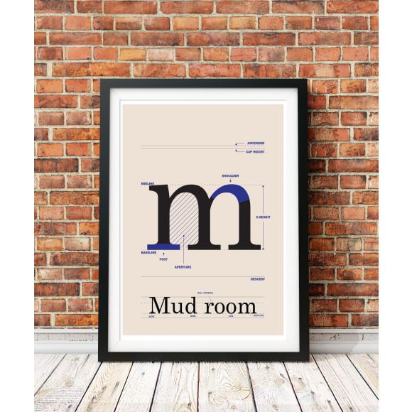Mud room poster