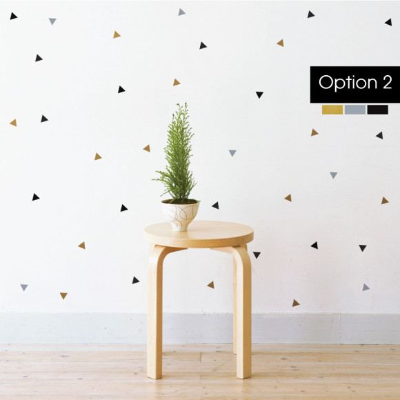 Option 2: Gold, Black & Silver