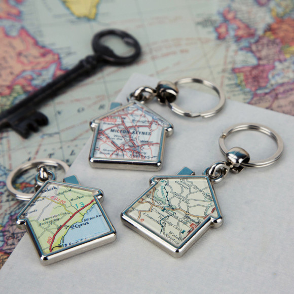 Map double sided personalised keyring house hardtofind addthis sharing buttons gumiabroncs Gallery