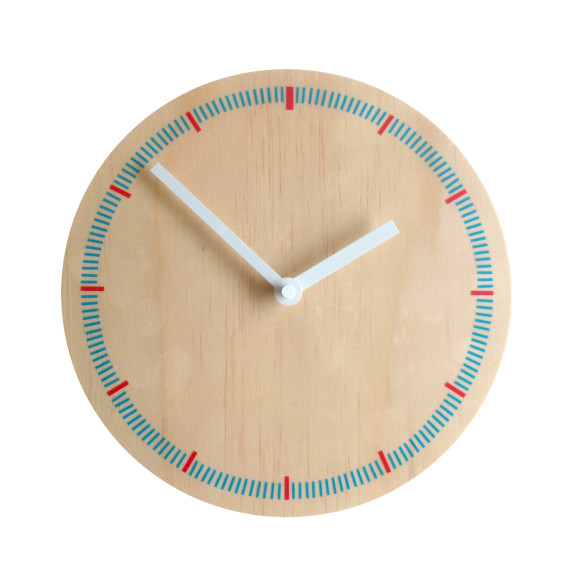 Markers wall clock