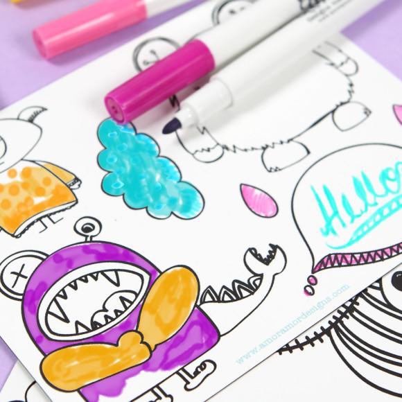Colouring ideas