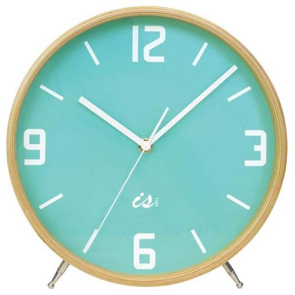 Mint Mantel Clock