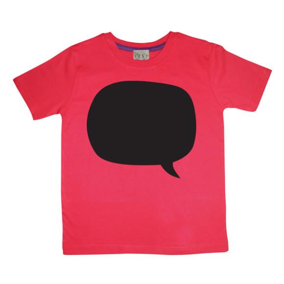 Red Speech Bubble Design