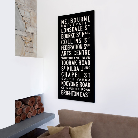 Melbourne canvas