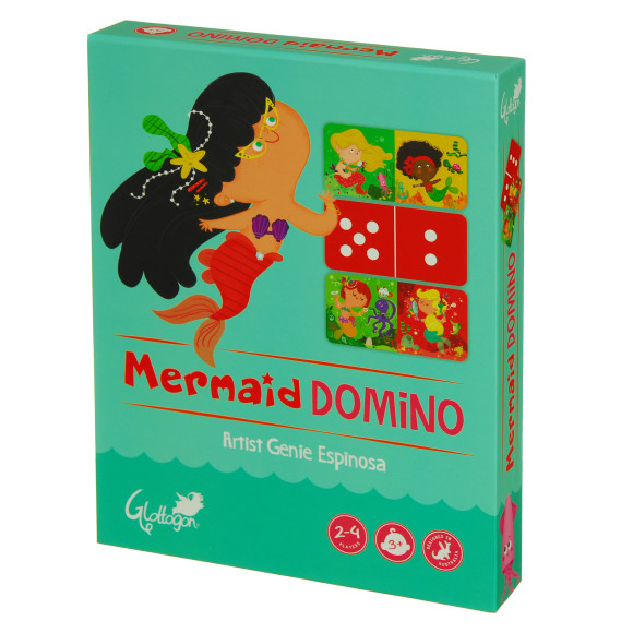 mermaid domino