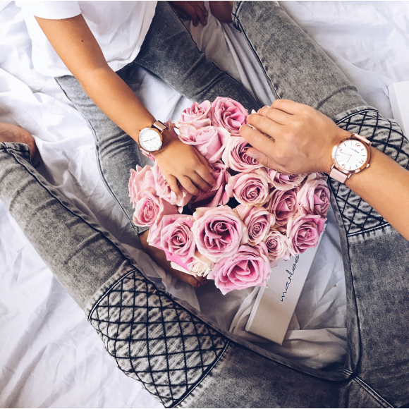 Matching Marlee Timepieces in BLUSH