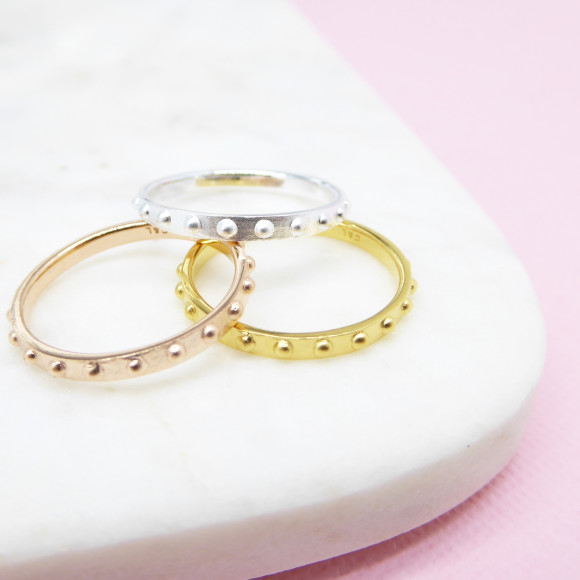 Mini Ball Eternity Ring