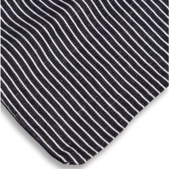 Indigo Mini Stripe