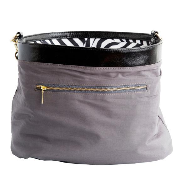 Zebra Bucket Bag