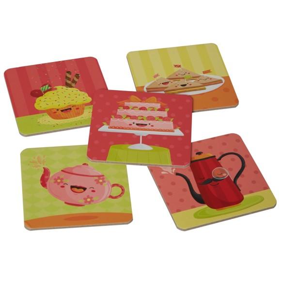 Tea party tiles
