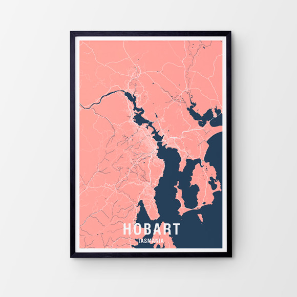 Peach/Navy