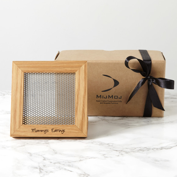 Personalised Earring Stand and Gift Box