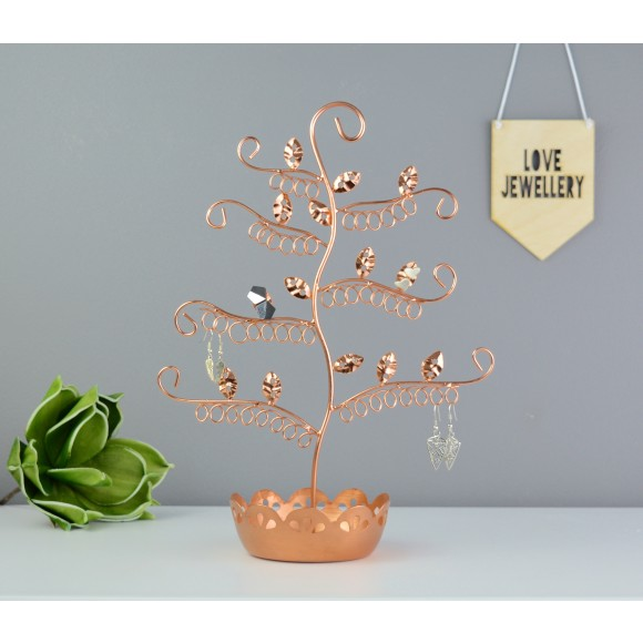 Earring Stand in Copper