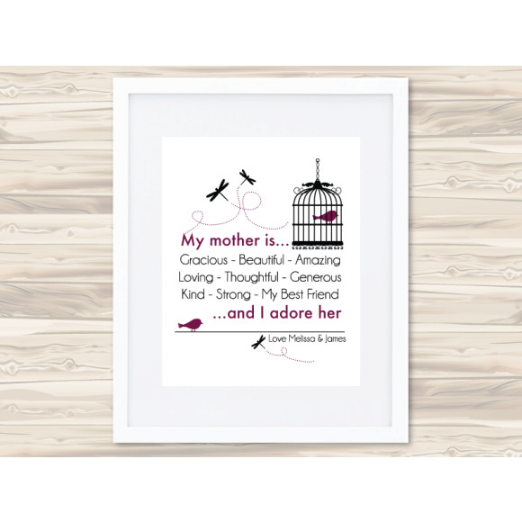 My mother print