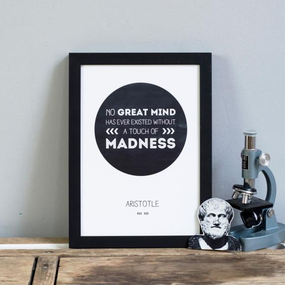 Aristotle Quote Print