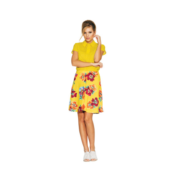 Wilma Skirt - Yellow