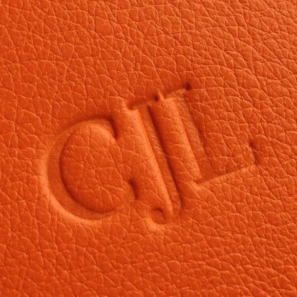 Blind Embossed Initials