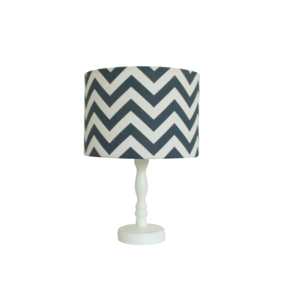 Navy chevron shade