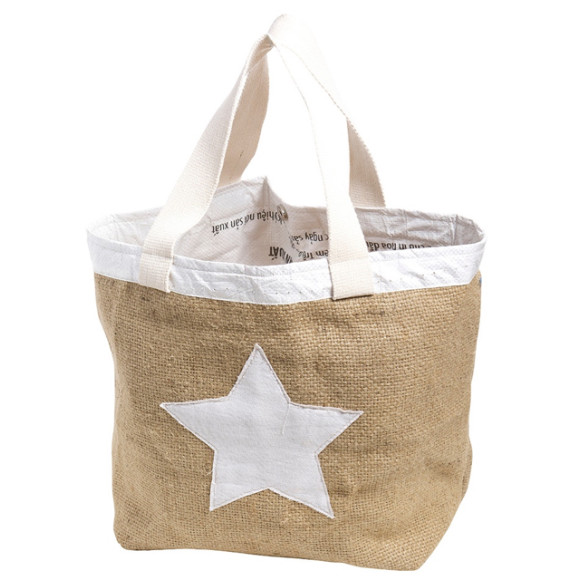 Star bag white