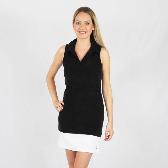 Biarritz black and white - Terry dress