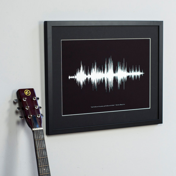 how to play back a picture of a sound wave