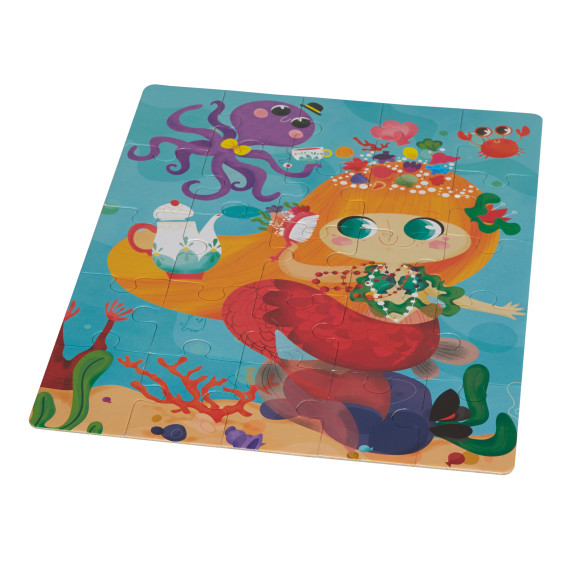 mermaid 25 piece preschooler puzzle