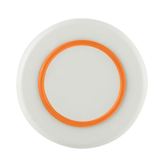 White with Orange non-slip ring