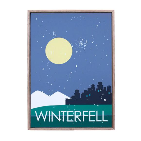 Winterfell in Oak Floater
