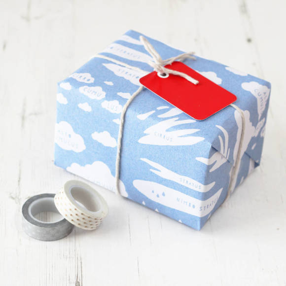 Cloud Types Educational Gift Wrap Set