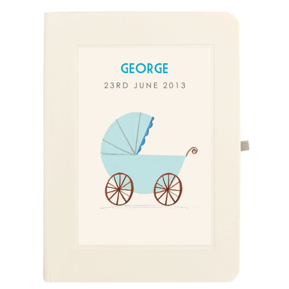 Blue Pram Notebook