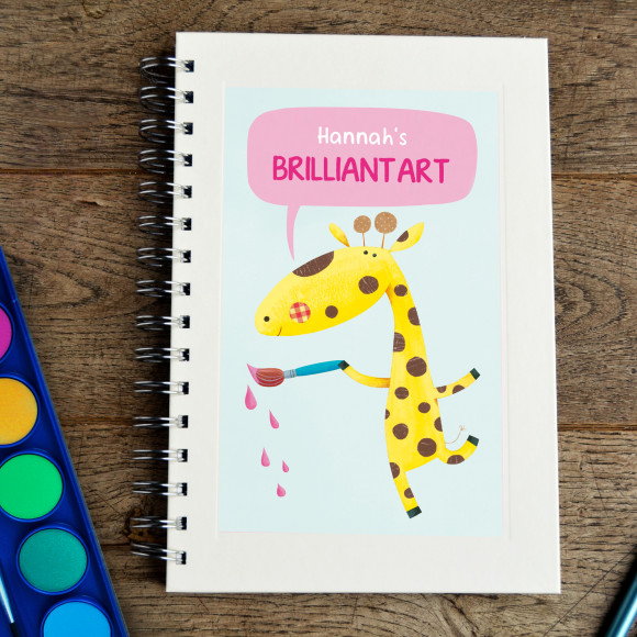 Giraffe Sketchbook