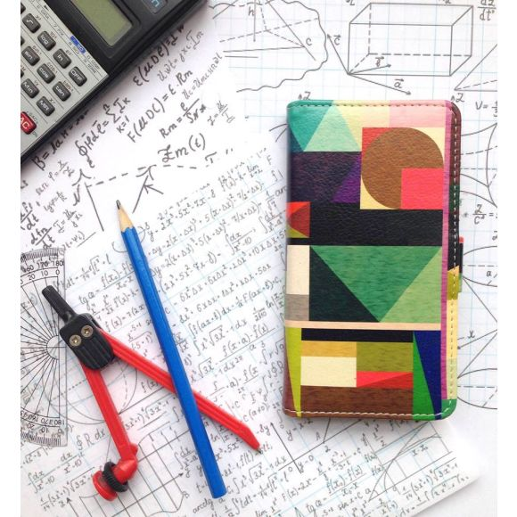 Kaku Geometric Sony Xperia Z5 Wallet Phone Case
