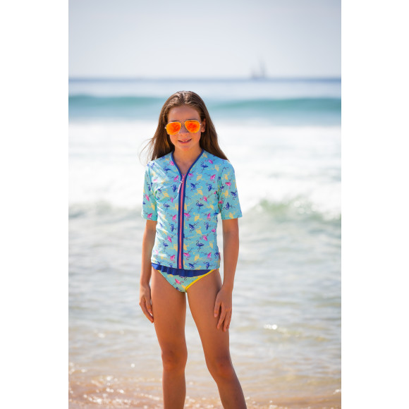 shown with matching tankini