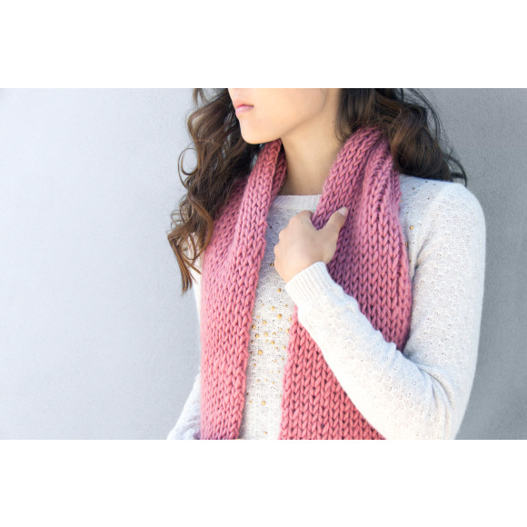 Dust Pink Scarf