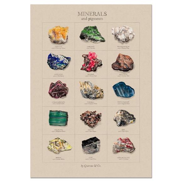 Minerals - 70x100cm