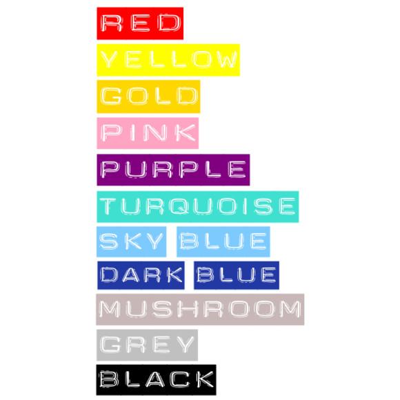 colour chart