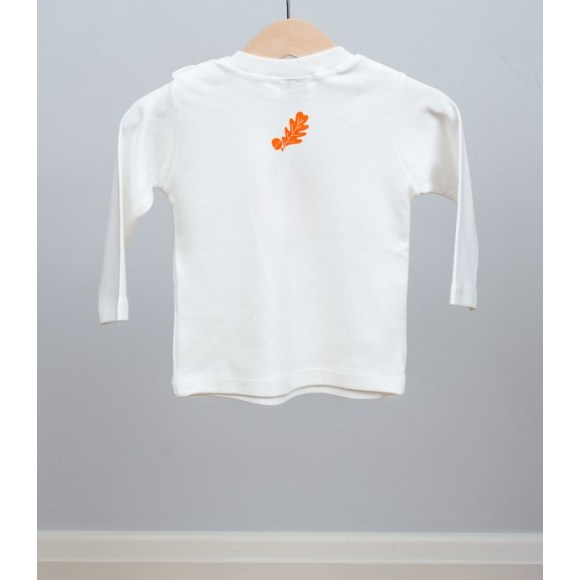 baby long sleeve fox t shirt (back)