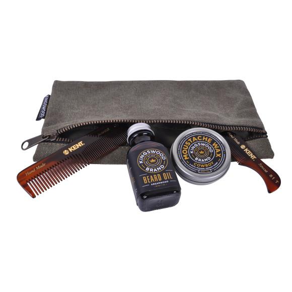 Bead & Moustache Kit (Small Green Bag)