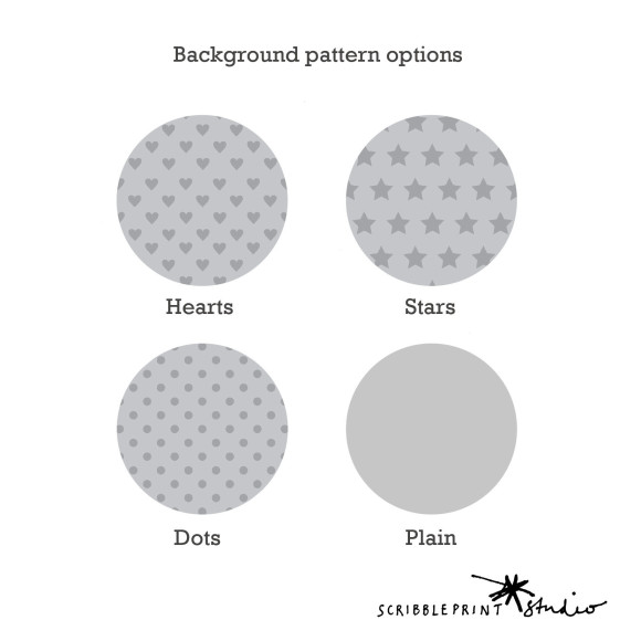 Optional background patterns