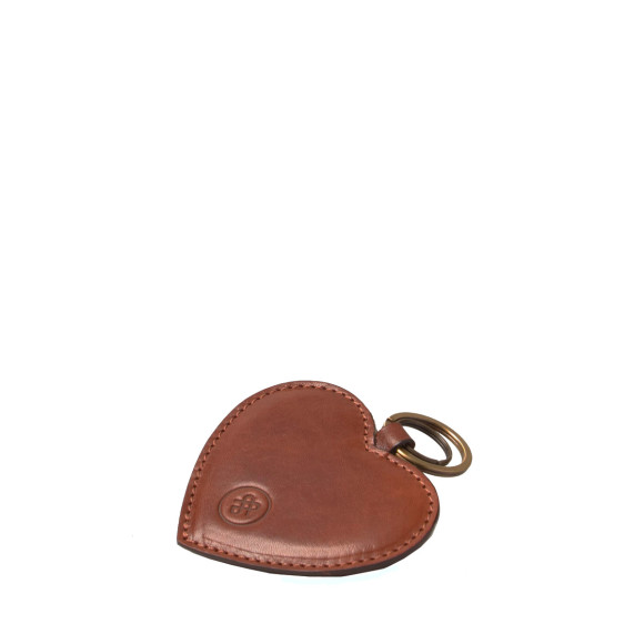 The Mimi Keyring in Tan