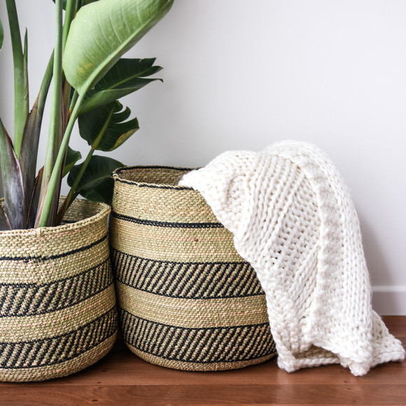 African Baskets: African Grass Basket Collection