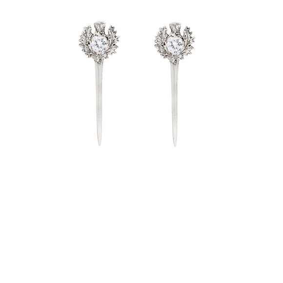 Prince Charming Earring Silver